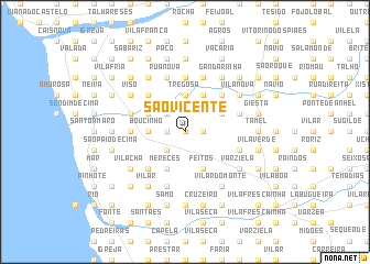 map of São Vicente