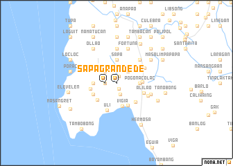 map of Sapa Grande