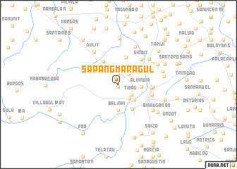 map of Sapangmaragul