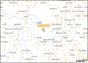 map of Sapang