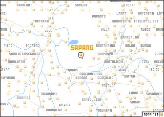 map of Sapang