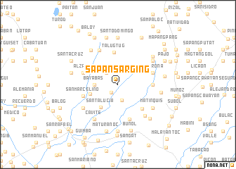 map of Sapan Sarging
