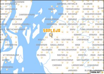 map of Sāpleja