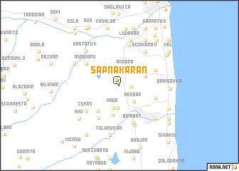 map of Sǝpnǝkǝran