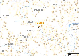 map of Sapna