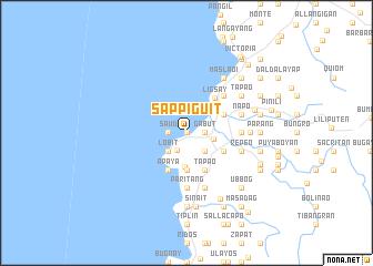 map of Sappiguit