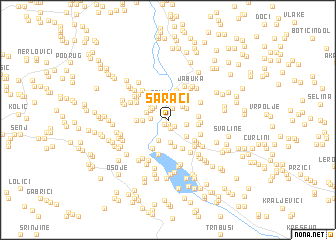 map of Sarači