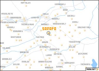 map of Sǝrǝfǝ