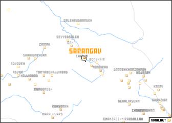 map of Sarangāv