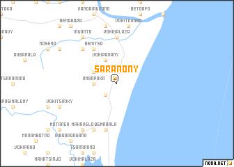 map of Saranony
