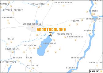 Saratoga New York Map.Saratoga Lake United States Usa Map Nona Net