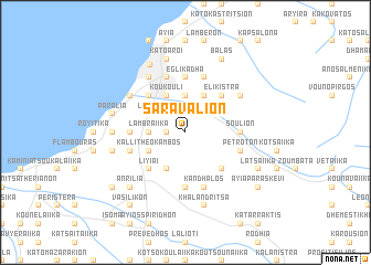 map of Saraválion