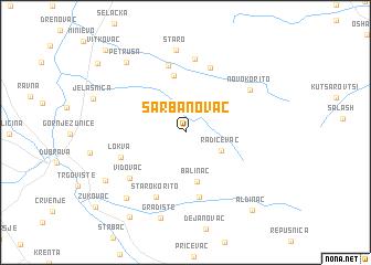 map of Šarbanovac