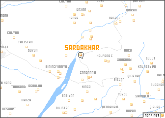 map of Sǝrdakhar