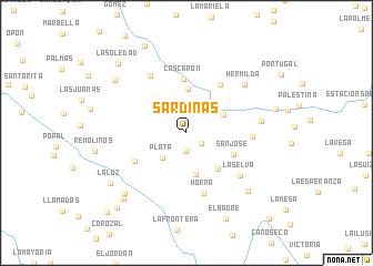 map of Sardinas