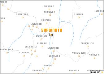 map of Sardinata