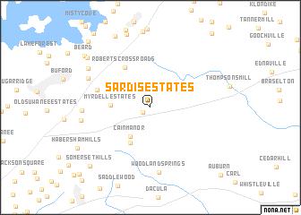 map of Sardis Estates