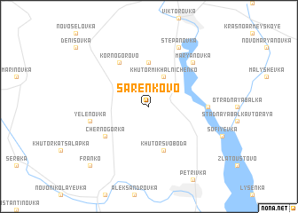 map of Sarenkovo
