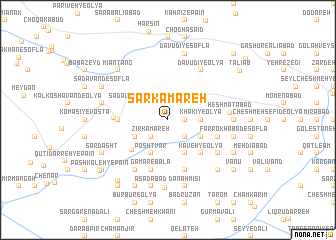 map of Sar Kamareh