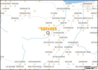 map of Sárkhos