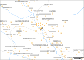 map of Sarkūnī