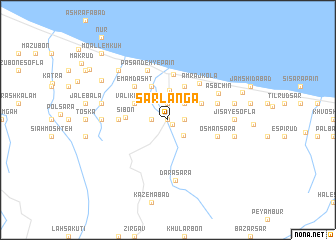 map of Sarlangā