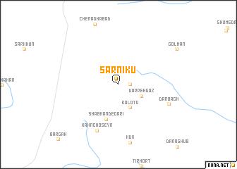 map of Sarnīkū