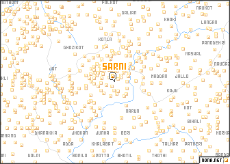 map of Sarni