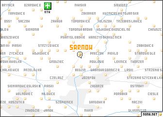 map of Sarnów