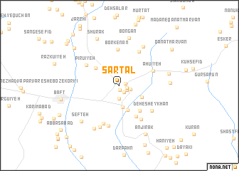 map of Sartal