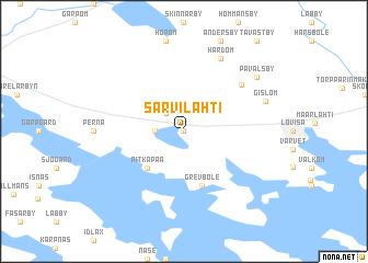 map of Sarvilahti