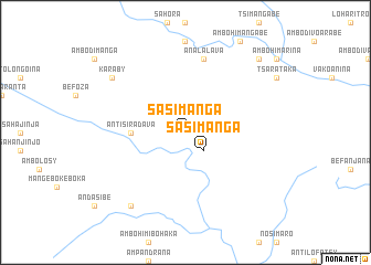 map of Sasimanga