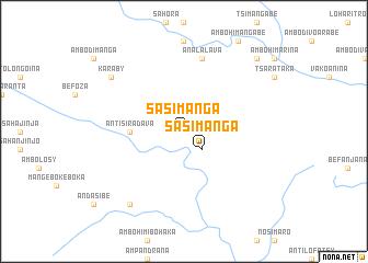 map of Sasimanga