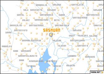 sasmuan philippines map