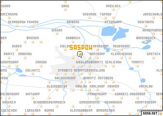map of Saspow