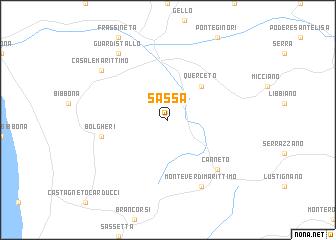 Sassa Italy Map Nona Net