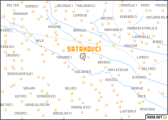 map of Satahovci