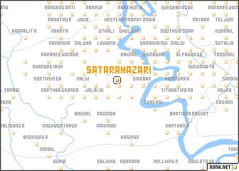 map of Satara Hāzāri
