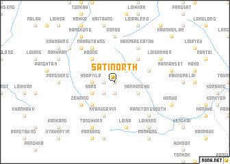 map of Sati North