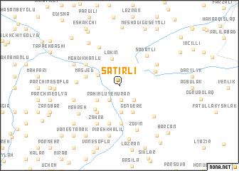 map of Şatırlı