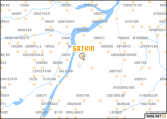 map of Satkin