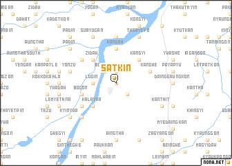 map of Satkin