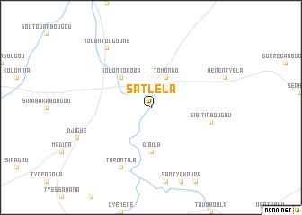 map of Satléla