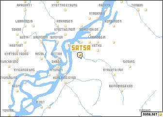 map of Satsa