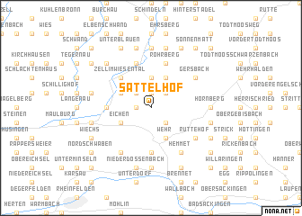 map of Sattelhof