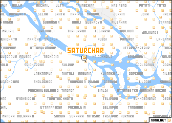 map of Satur Char