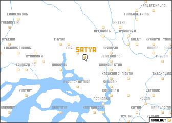 map of Sat-ya