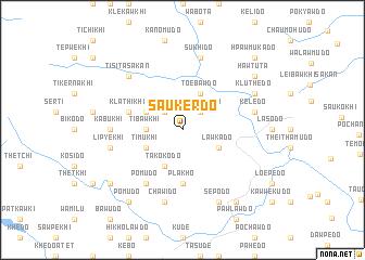 map of Saukerdo
