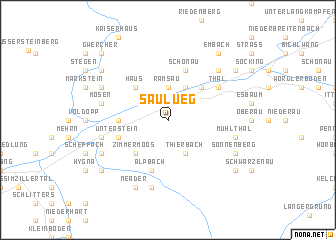 map of Saulueg
