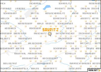map of Säuritz